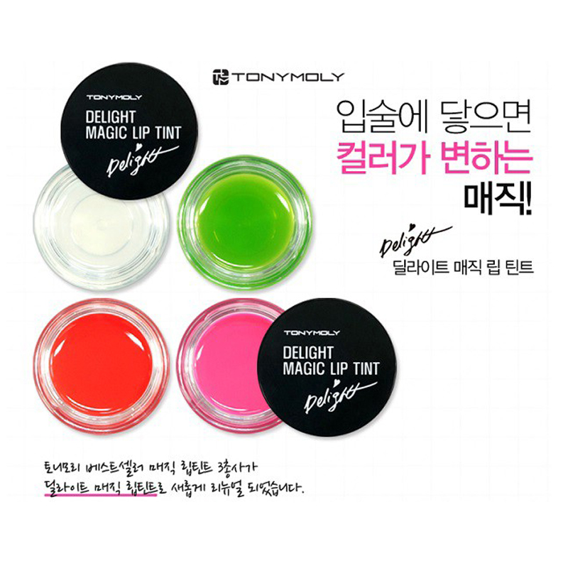 [Tonymoly] Son dưỡng môi Delight Magic Lip Tint